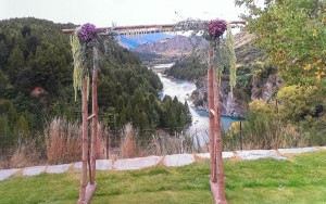 Wedding Celebrant Queenstown - Shotover Gorge